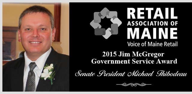 2015 Jim McGregor Government Service Award Winner,