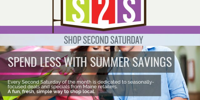 The next Shop Second Saturday is October 8th! Register your Business at: www.shopsecondsaturday.com